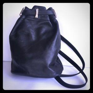 Enzo Angiolini Leather Backpack Bag.